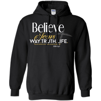 Way.Truth.Life Pullover Hoodie-Apparel-Our Lord Style