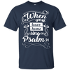 When You Leave Home (Psalm 91) Cotton Shirt-Apparel-Our Lord Style