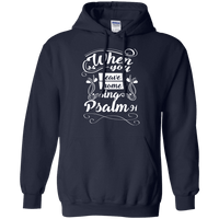 When You Leave Home (Psalm 91) Pullover Hoodie-Apparel-Our Lord Style