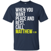 When You Want Peace And Rest Call (Matthew 11:28)-Apparel-Our Lord Style
