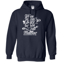 When You Want Peace & Rest (Matthew 11:28)-Apparel-Our Lord Style