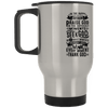 XP8400S Silver Stainless Travel Mug-Drinkware-Our Lord Style