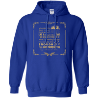 You Are My Angel Pullover Hoodie-Apparel-Our Lord Style