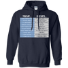 You Say God Says Pullover Hoodie-Apparel-Our Lord Style