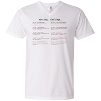 You Say God Says V2-Apparel-Our Lord Style