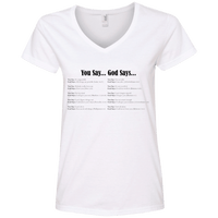 You Say God Says V5-Apparel-Our Lord Style