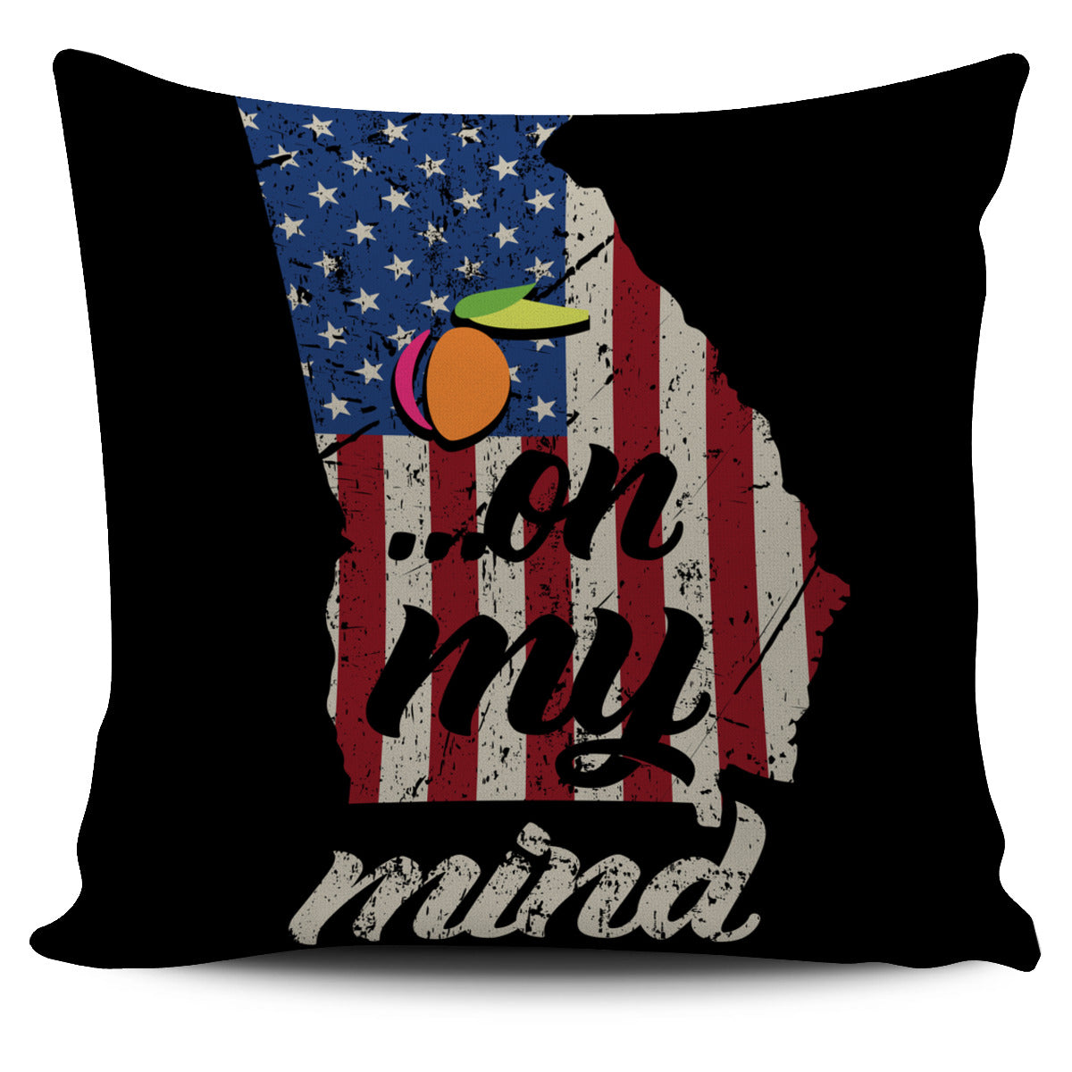 GA On My Mind Pillow Case!