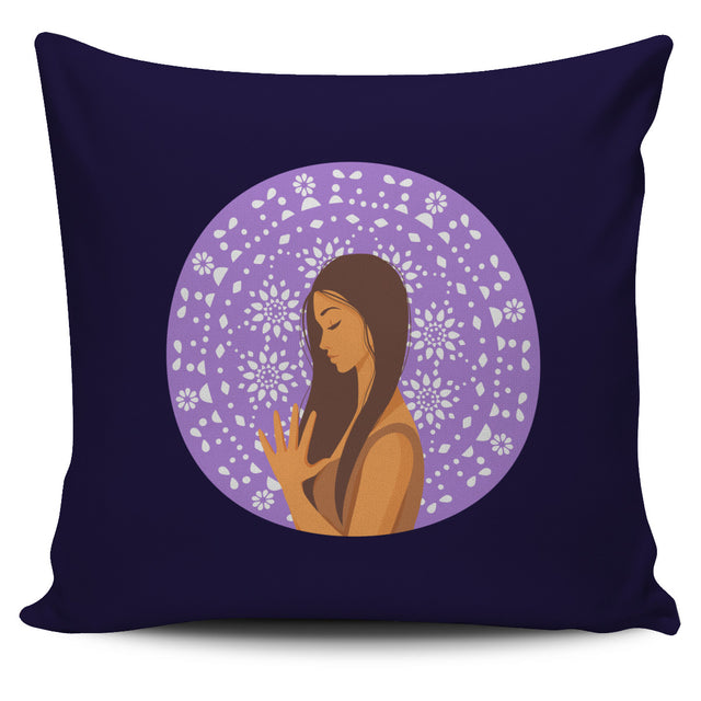 Yoga Namaste Pillow Cover