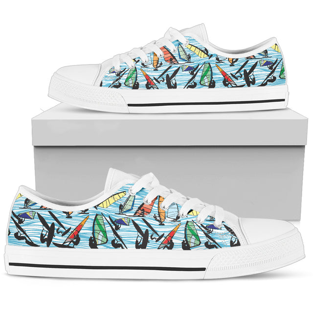 Windsurfing Low Top white Mens