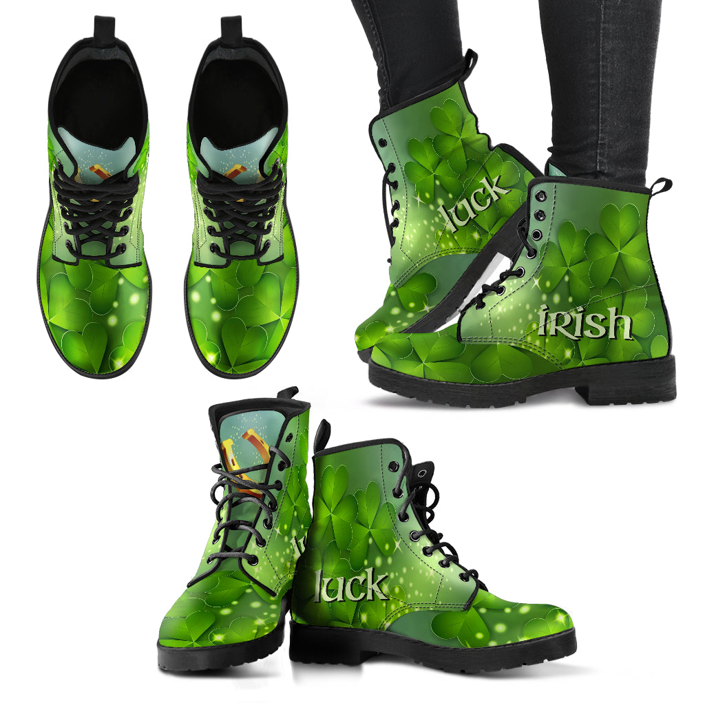 St Patricks Irish Luck Womens Boots
