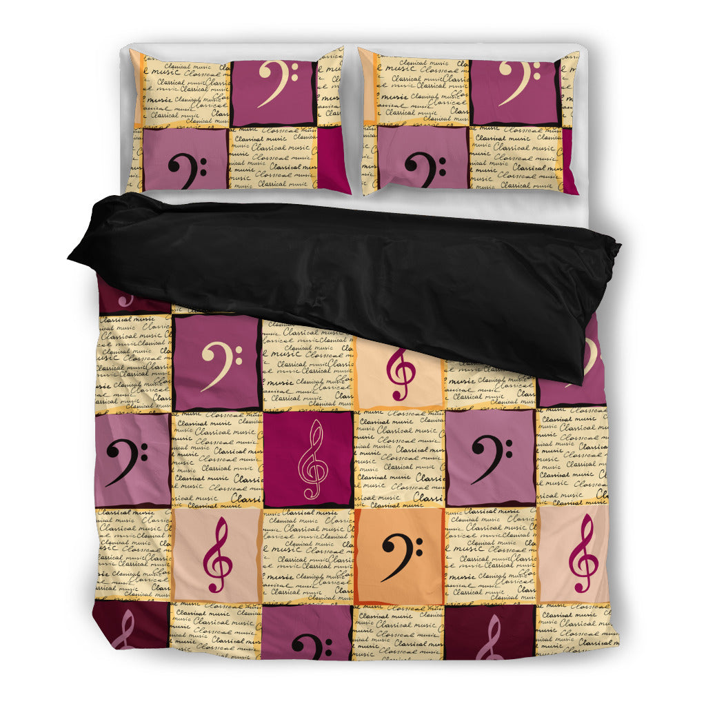 Classical Music Bedding Set