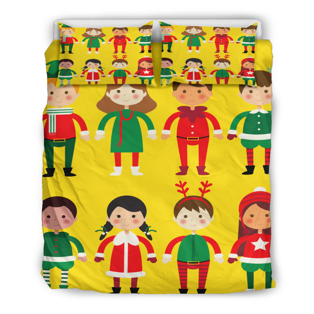 Children - Merry Christmas Bedding Set