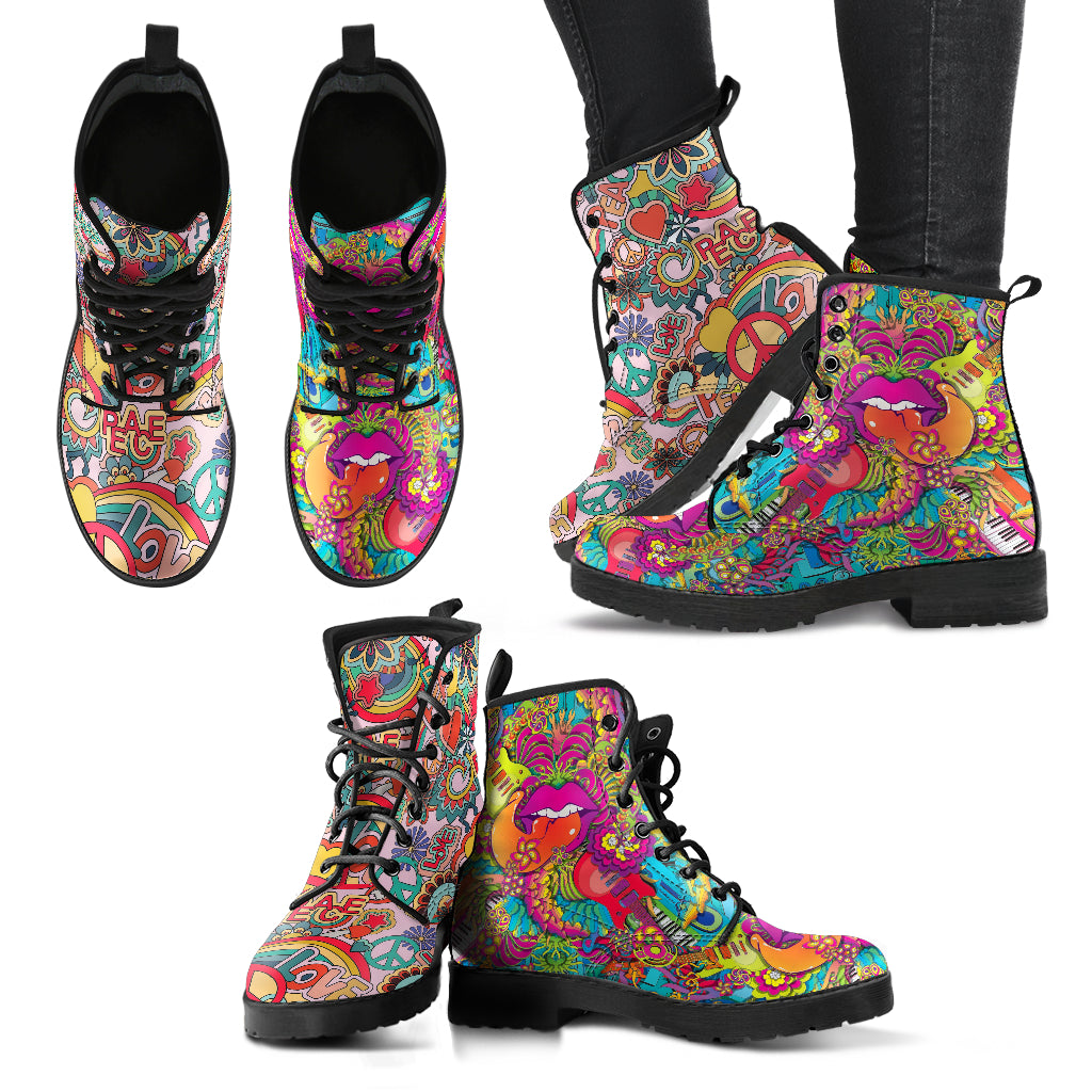 Hippie Women's Leather Boots