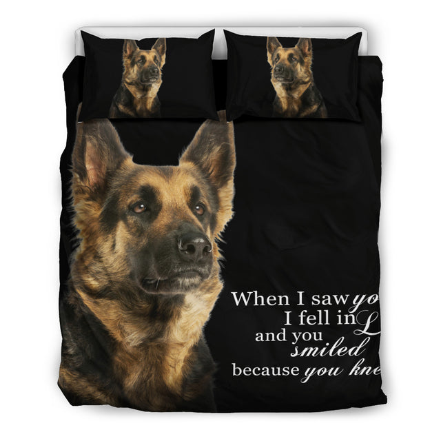 When I Saw You... Bedding Set
