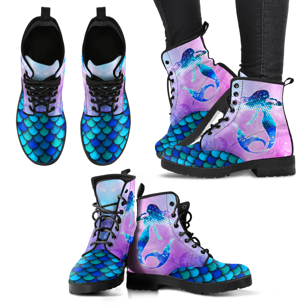 Mermaid Handcrafted Boots