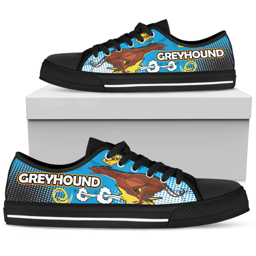 Greyhound Women's Low Top Shoe