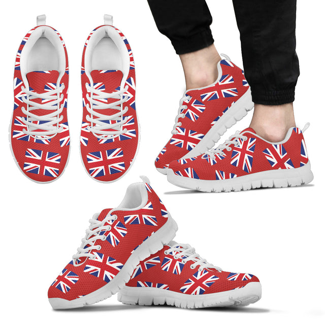 THE UNION JACK - FLAGSHOE - Men's Sneaker (red)