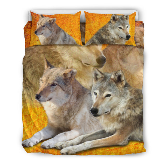 Wolf - Love Bedding Set