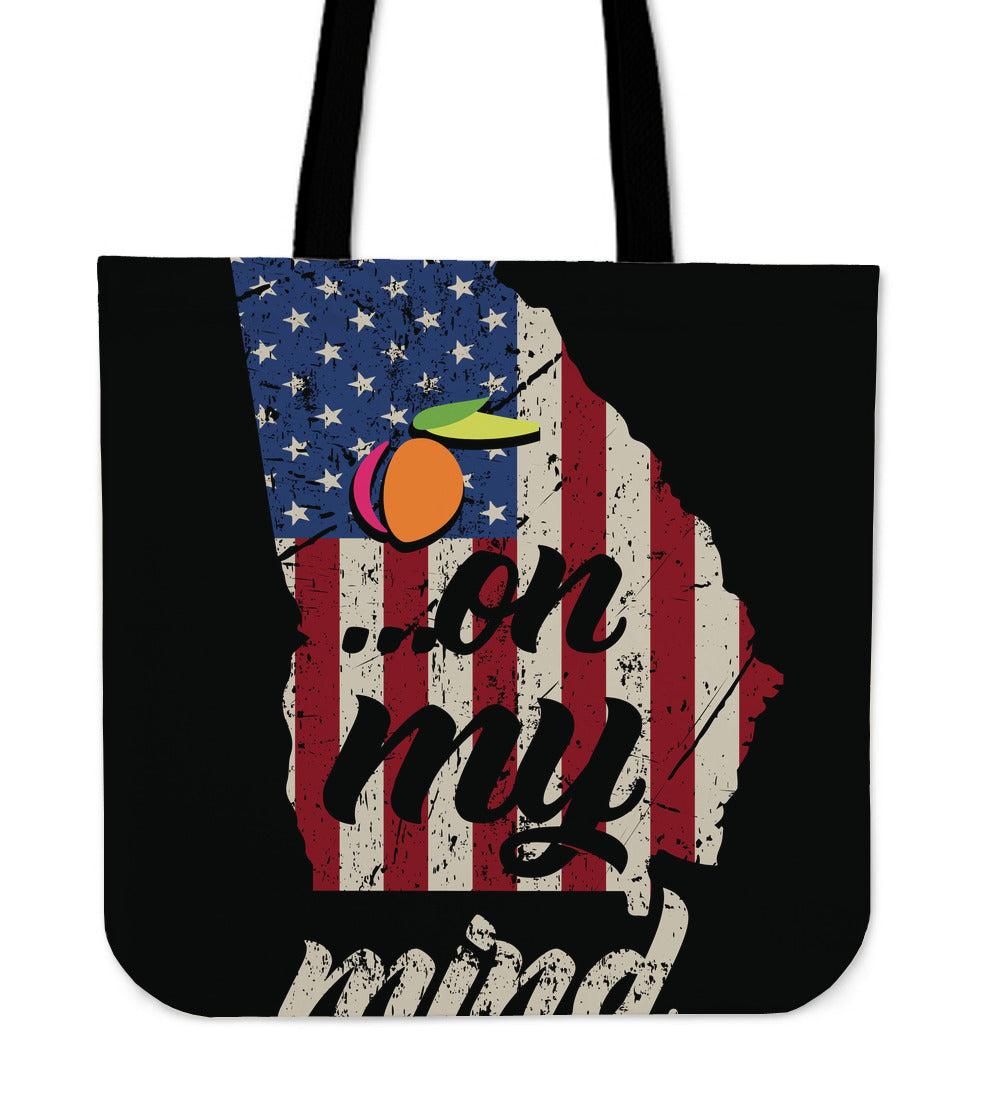 GA On My Mind Tote Bag!