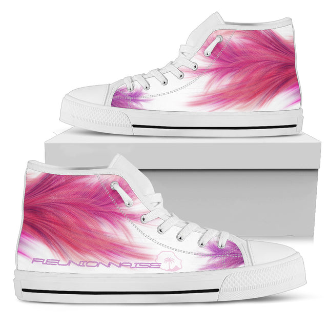 Womens Low Top Feather Design