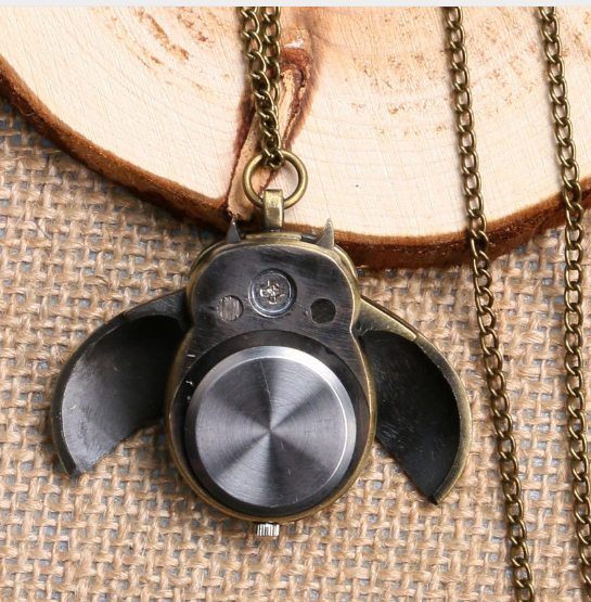 Lovely Owl Fob Watch Necklace For Nurse