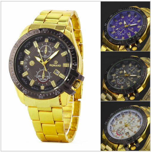 Luxury Gold Sport Watch-Offer!