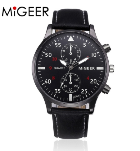 New MIGEER brand high quality Business Watch