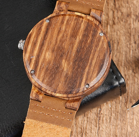 Top Gift Item Wood Hand-made Quartz Watch Giveaway!