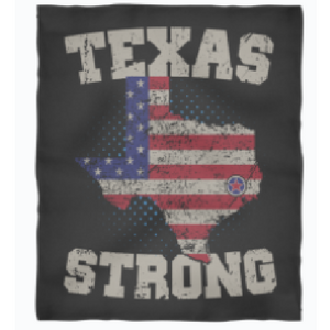 Exclusive Texas Strong Fleece Blanket!