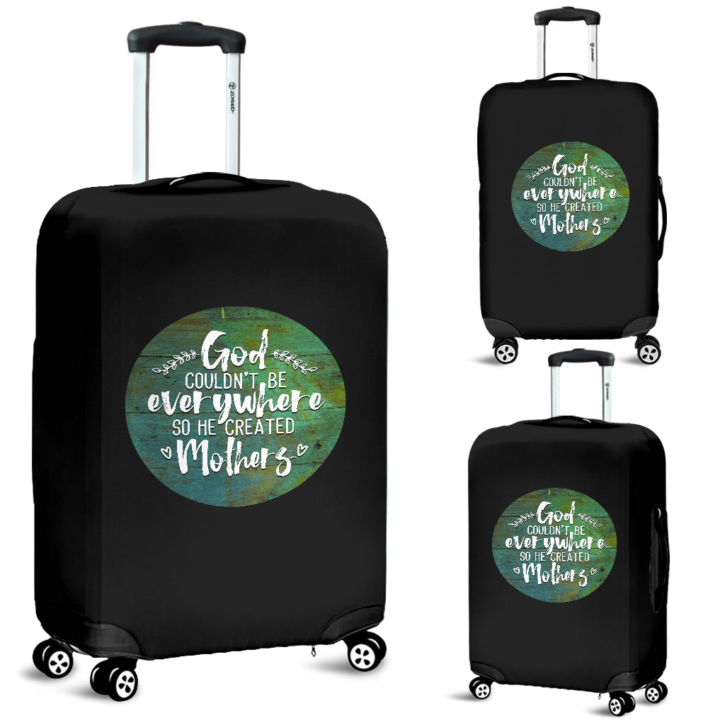 NP God Created Mothers Luggage Cover