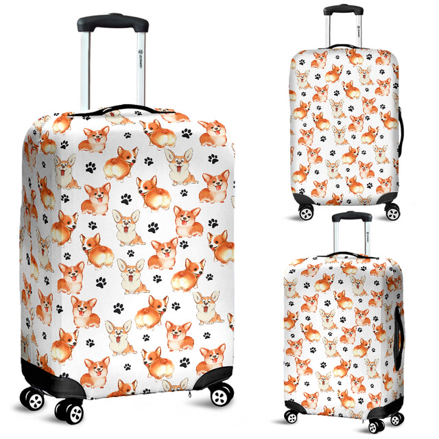 Welsh Corgi Luggage Covers