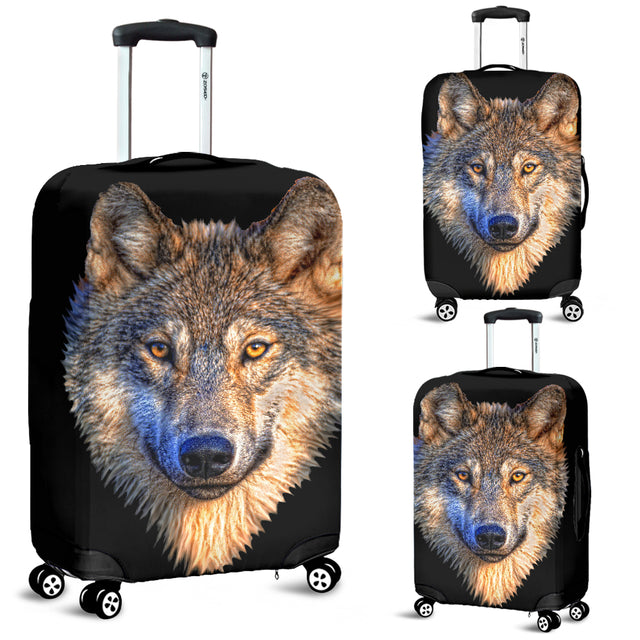 Wolf Luggage Cover