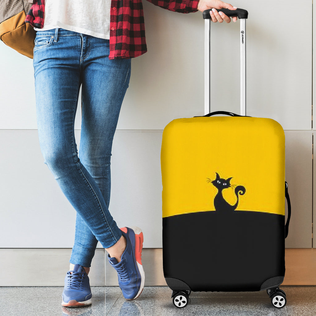 Kitty Kitty Luggage Cover