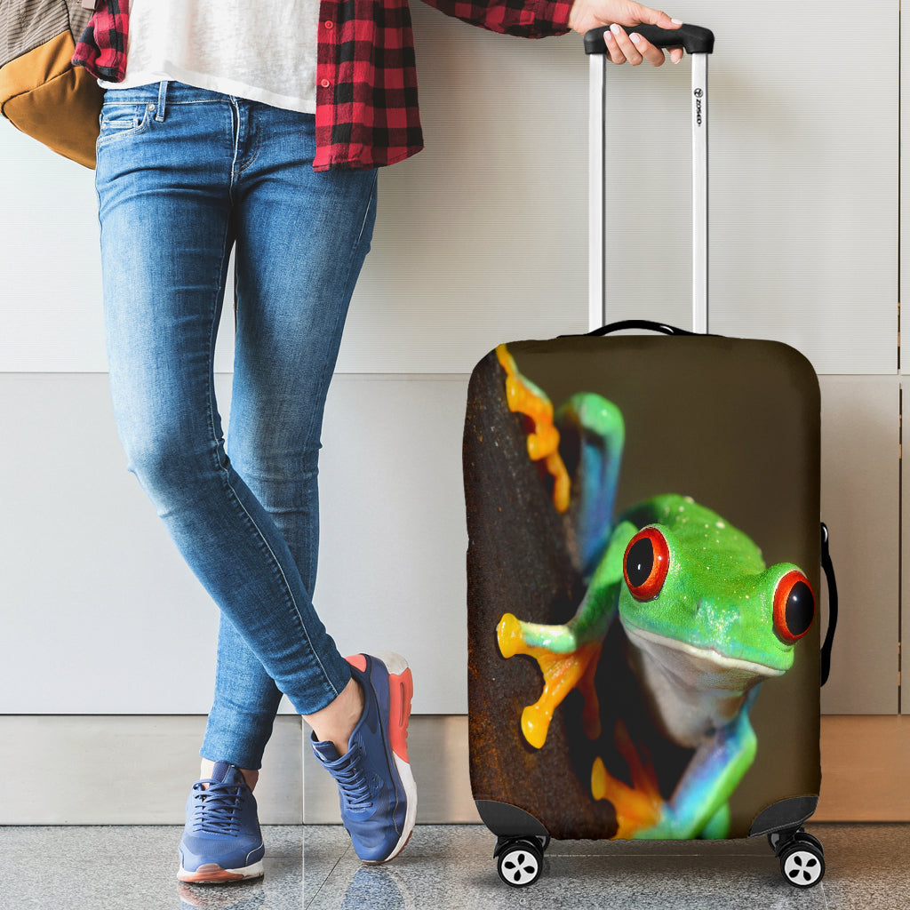 Frog Luggage Cover