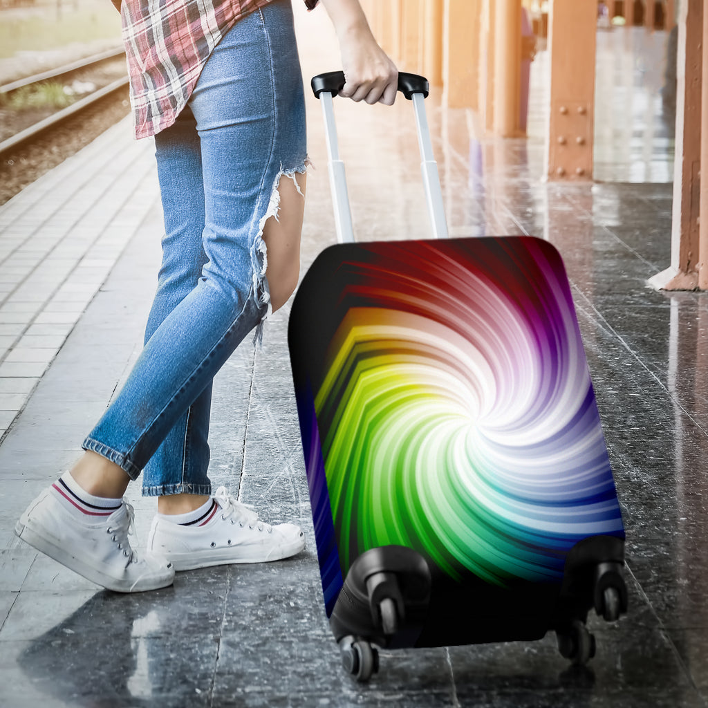 Multi-color Luggage Cover