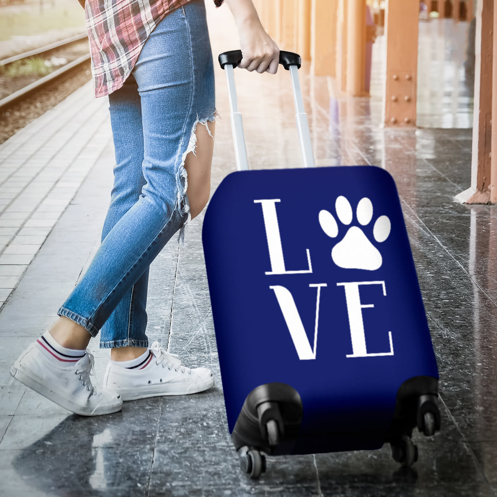 NP Love Dogs Luggage Cover