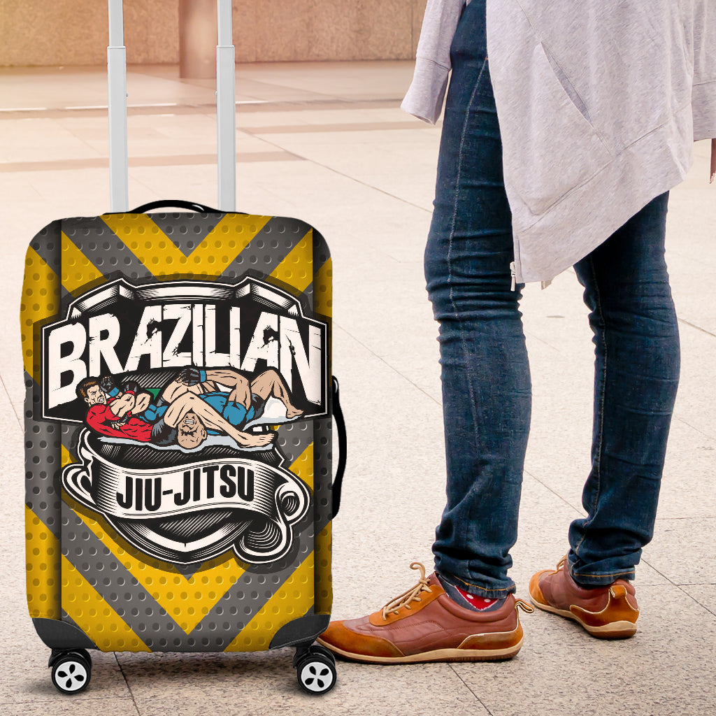 Jiu Jitsu Luggage Cover