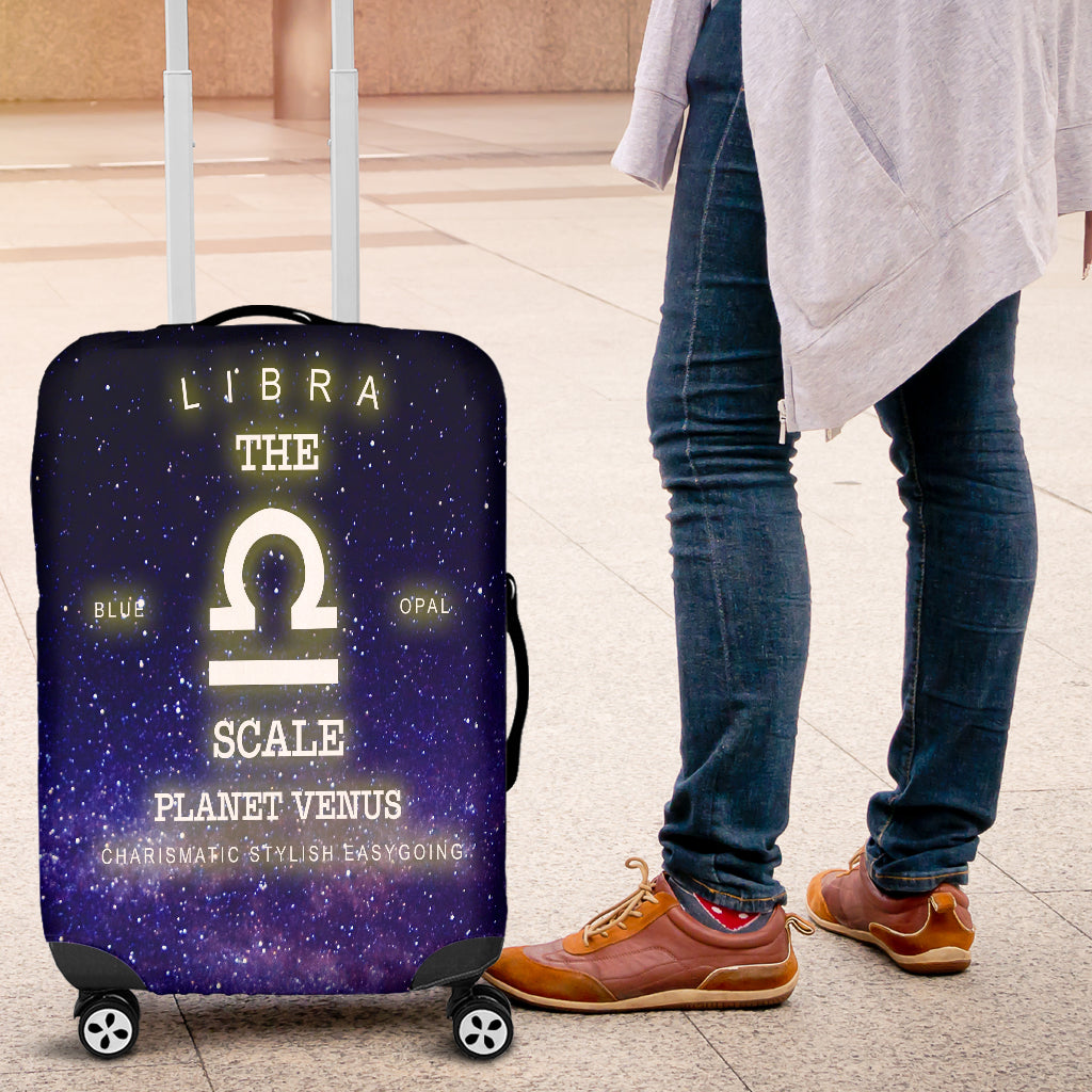 NP Zodiac Libra Luggage Cover