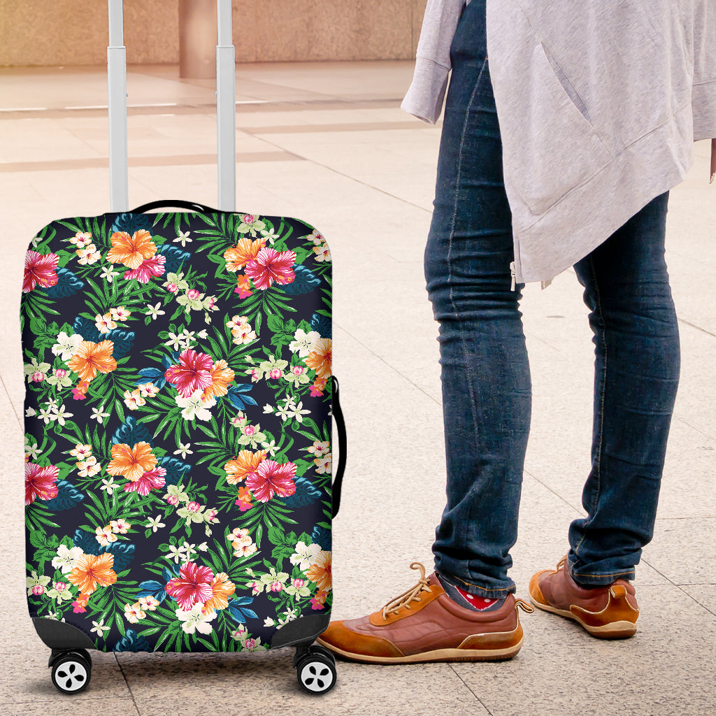 Power Flower Luggage Cover