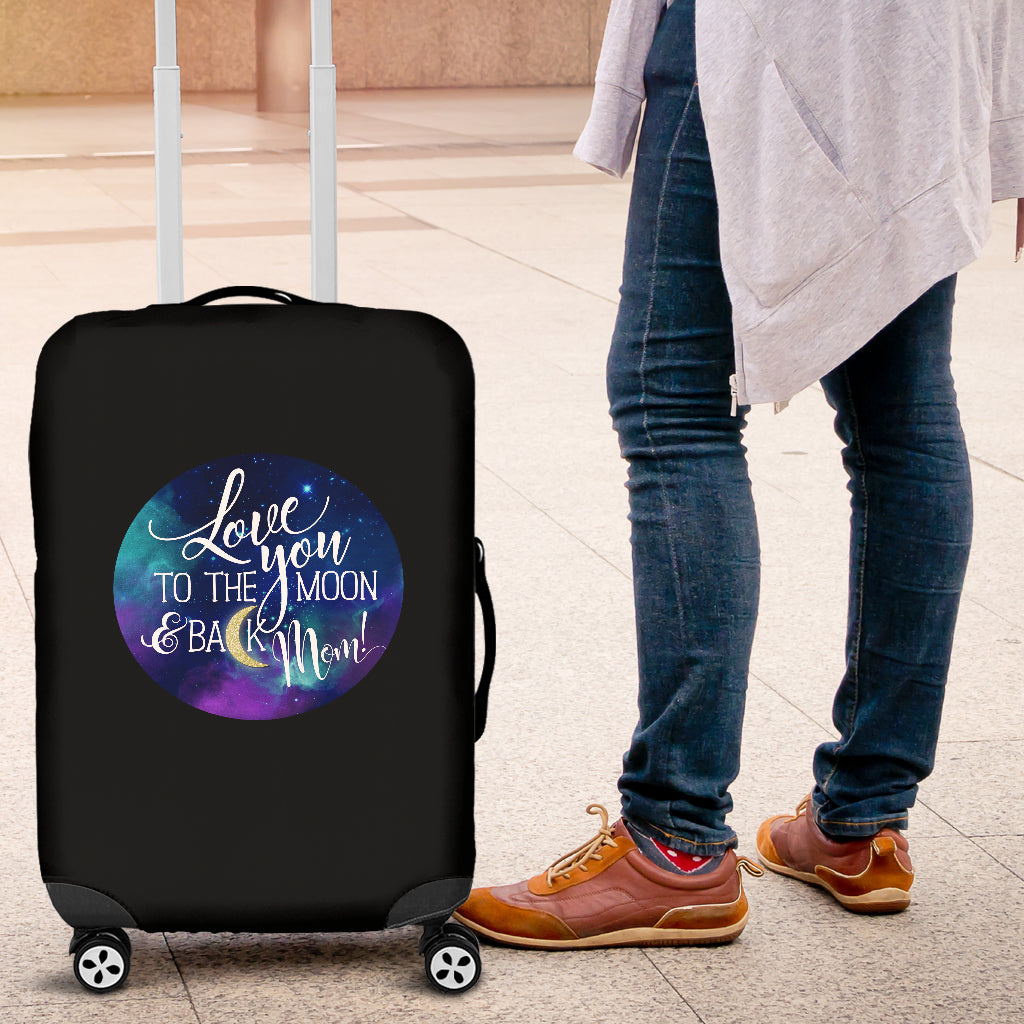 NP Love You To The Moon Luggage Cover