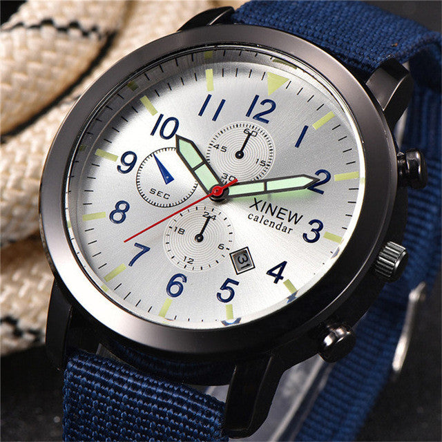 Top Brand Luxury Military Sport Luminous Watch 2017 Quartz Army Watch-Offer