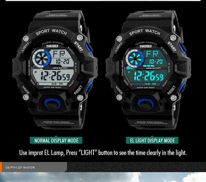 G Style Camouflage Military Digital Wristwatches-Giveaway