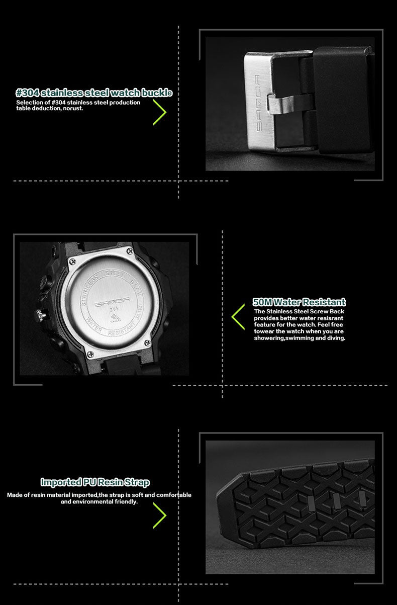 Top-Notch G Style Waterproof Led Digital Military Sports Watch!