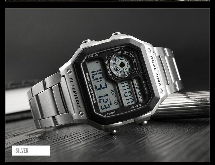 Businessman Waterproof Digital Wristwatch-Giveaway