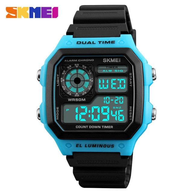Famous LED Digital Sports Watches!