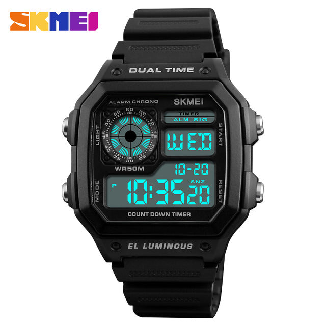 Famous LED Digital Sports Watches-Giveaway