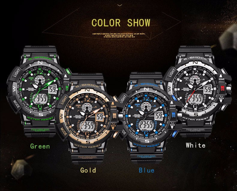 Top Brand Luxury Clock Military Sports Waterproof Watches!