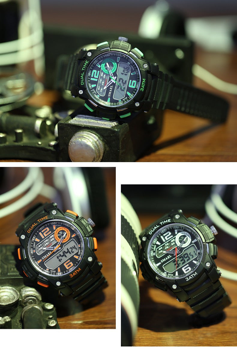 Elegant Led Military Army Quartz Automatic S Shock Watches