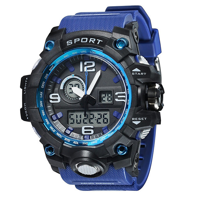 Military Electronic  Waterproof  Luxury Wrist Watch-Offer