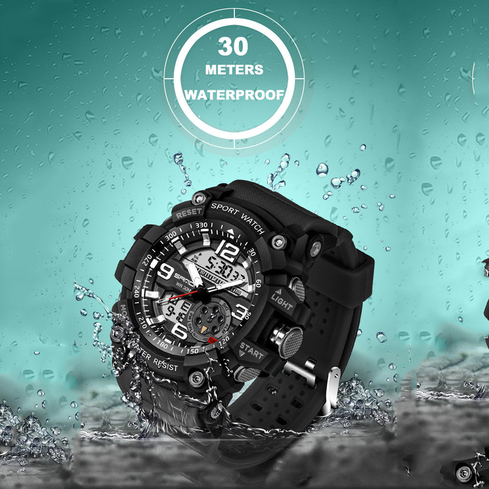 Fashion Waterproof Shock Digital Electronic Sports Watches-Offer